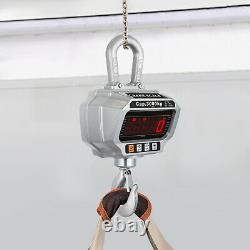 VEVOR Industrial Digital hang Scale LCD Screen Hanging Crane Scale 3000KG 3ton