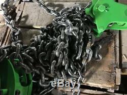 Vintage HD FUTABA FSL 3 TON Speed Chain Fall 10 FT Lift Hoist Built To Last