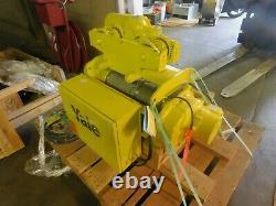 YALE BEW. 5-54RT14S2 Wire Rope Hoist Motorized 1/2 Ton Trolley